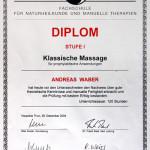 Klassische Massage I