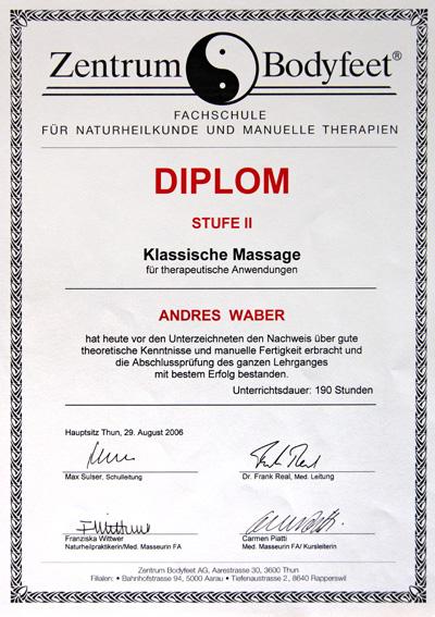 Klassische Massage II